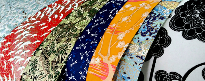 Beautiful Japanese, Himalayan and other decorative papers.