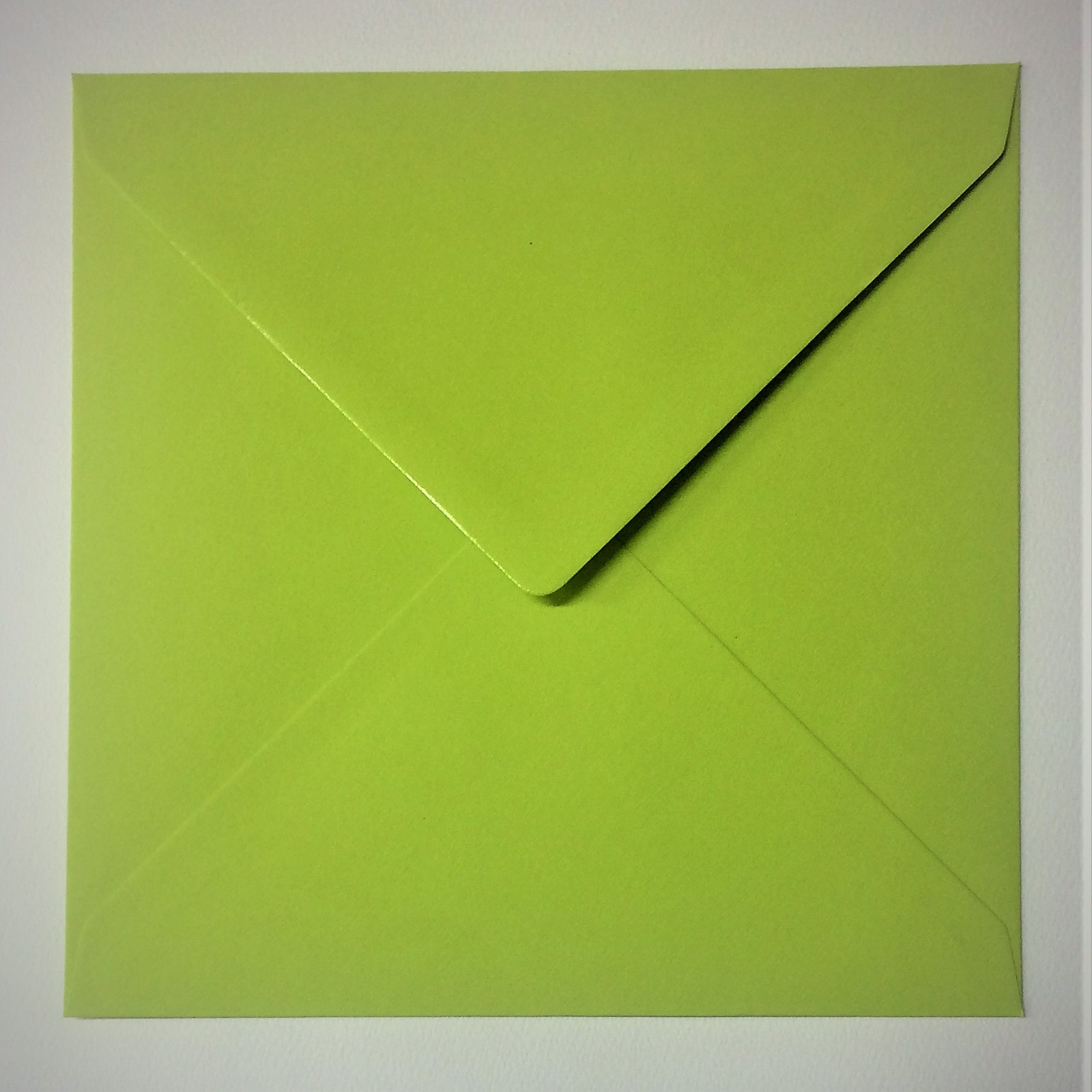 Colourful modern green 160mm square envelope amazing paper jeuxipadfo Image collections