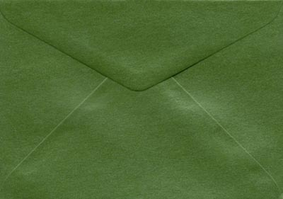 pearla fern green c6 envelope amazing paper